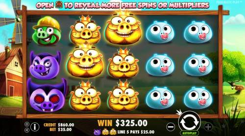 7 Piggies review on Big Bonus Slots