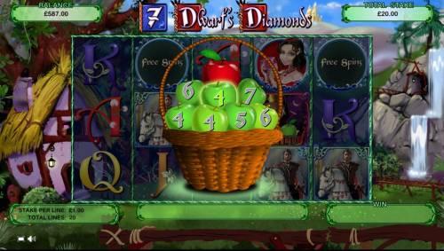 7 Dwarf's Diamonds review on Big Bonus Slots