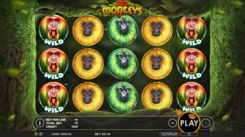 7 Monkeys review on Big Bonus Slots