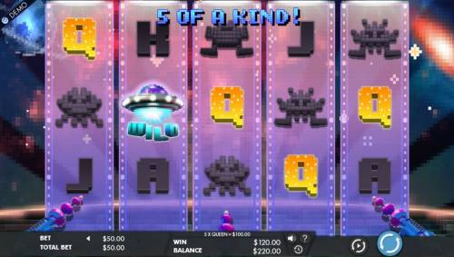 8 Bit Intruders review on Big Bonus Slots