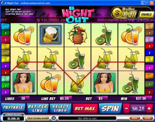 A Night Out review on Big Bonus Slots