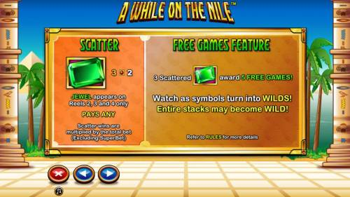 A While on the Nile review on Big Bonus Slots