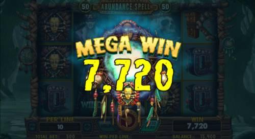 Abundance Spell Big Bonus Slots A 7,720 mega win!