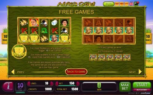 Africa Gold Big Bonus Slots Free Games Bonus Rules