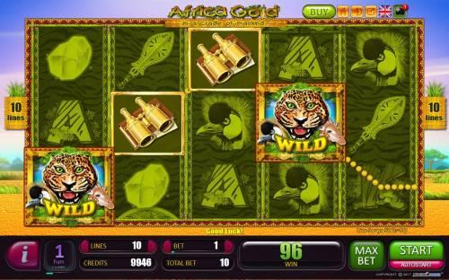 Africa Gold Big Bonus Slots A winning Four of a Kind