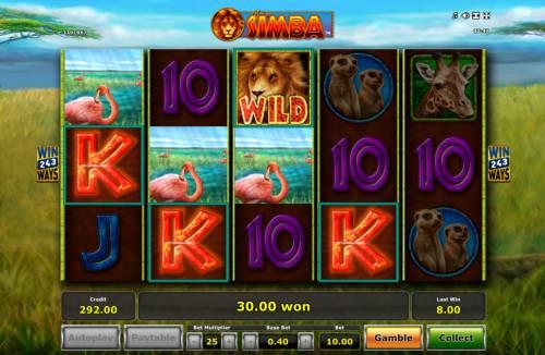 African Simba review on Big Bonus Slots