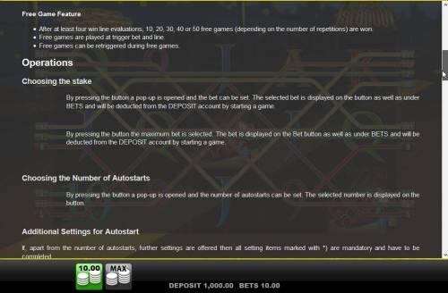 Agent Istanbul Big Bonus Slots General Game Rules