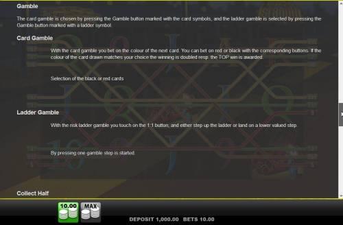 Agent Istanbul Big Bonus Slots Double Up Gamble Feature Rules
