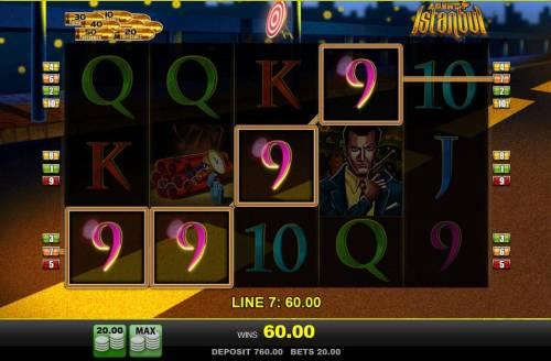 Agent Istanbul Big Bonus Slots A winning Four of a Kind