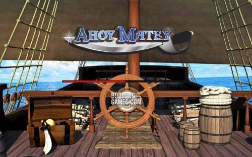 Ahoy Matey review on Big Bonus Slots