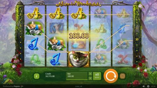 Alice in Wonderslots review on Big Bonus Slots