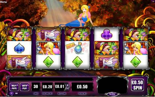 Alice and the Mad Tea Party review on Big Bonus Slots