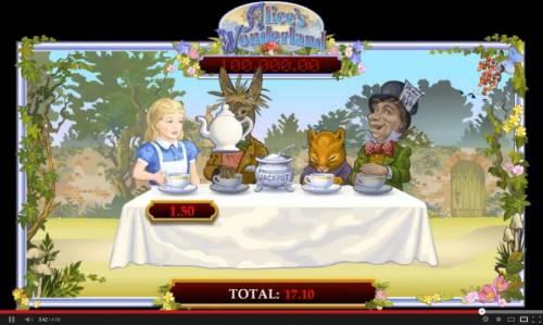 Alice's Wonderland review on Big Bonus Slots