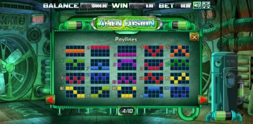 Alien Fusion Big Bonus Slots Paylines 1-20