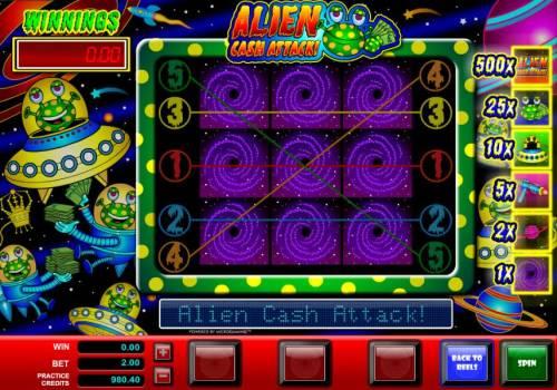 Alien Cash Attack review on Big Bonus Slots