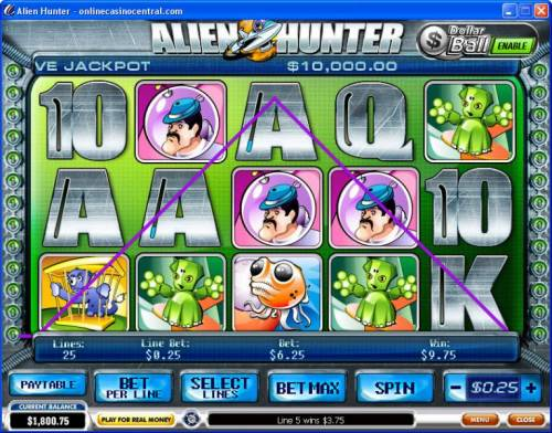 Alien Hunter review on Big Bonus Slots