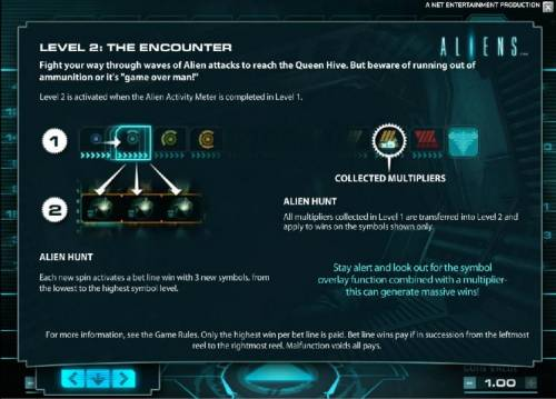 Aliens review on Big Bonus Slots