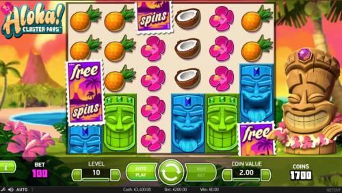 Aloha Cluster Pays review on Big Bonus Slots