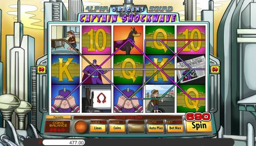 Alpha Squad Origins Captain Shockwave review on Big Bonus Slots