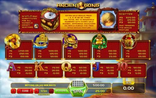 Ancient Gong review on Big Bonus Slots