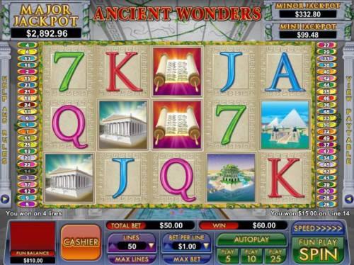 Ancient Wonders review on Big Bonus Slots