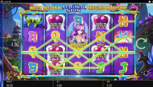 Angel Princess review on Big Bonus Slots