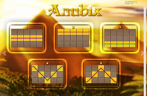 Anubix Big Bonus Slots Paylines 1-5