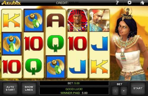 Anubix Big Bonus Slots Scatter Win