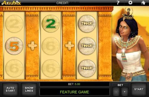 Anubix Big Bonus Slots Select to reveal free games won