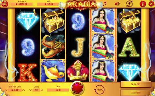 Arabia review on Big Bonus Slots