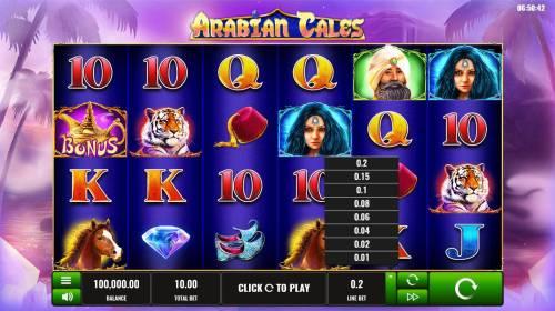 Arabian Tales review on Big Bonus Slots