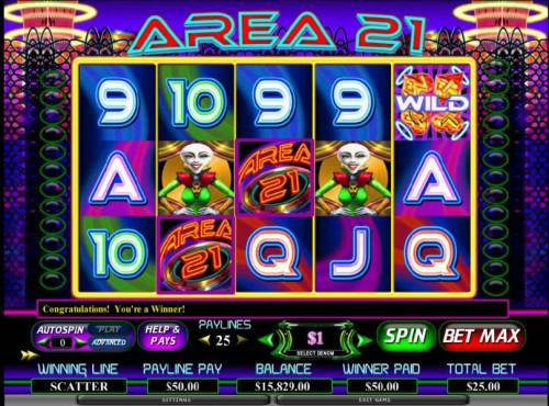 Area 21 review on Big Bonus Slots