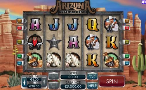 Arizona Treasure review on Big Bonus Slots