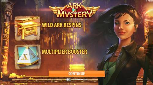 Ark of Mystery review on Big Bonus Slots