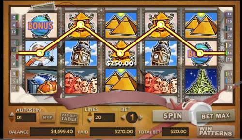 Around the World Big Bonus Slots