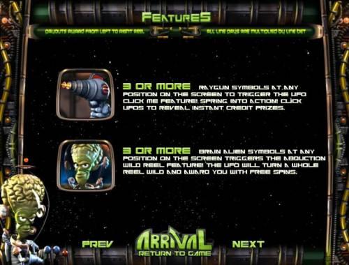Arrival review on Big Bonus Slots