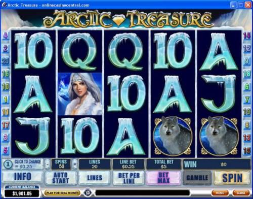 Arctic Treasure review on Big Bonus Slots