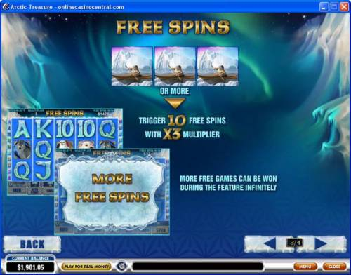 Arctic Treasure review on Big Bonus Slots