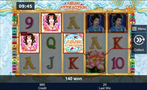 Asian Attraction review on Big Bonus Slots