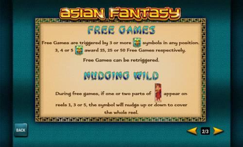 Asian Fantasy review on Big Bonus Slots