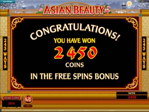 Asian Beauty review on Big Bonus Slots