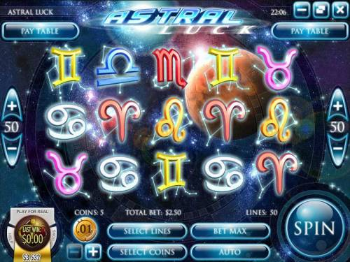 Astral Luck review on Big Bonus Slots