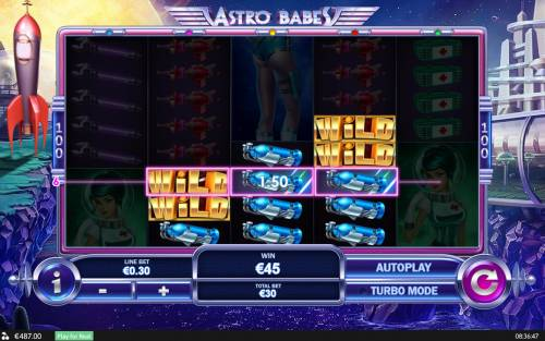 Astro Babes review on Big Bonus Slots
