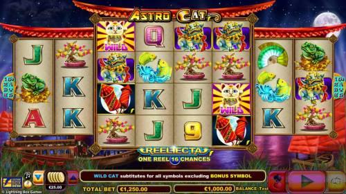 Astro Cat review on Big Bonus Slots