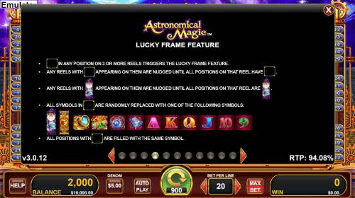 Astronomical Magic review on Big Bonus Slots