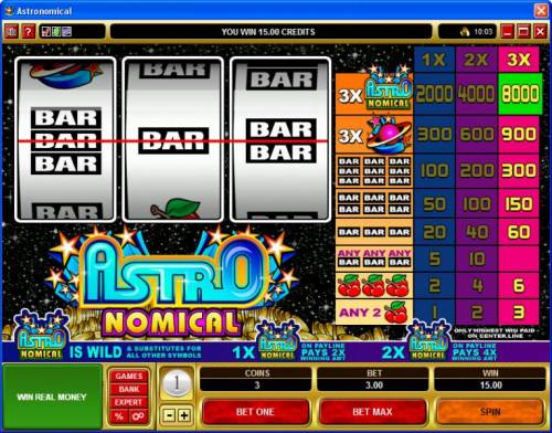 Astronomical review on Big Bonus Slots