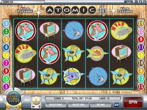 Atomic Age review on Big Bonus Slots
