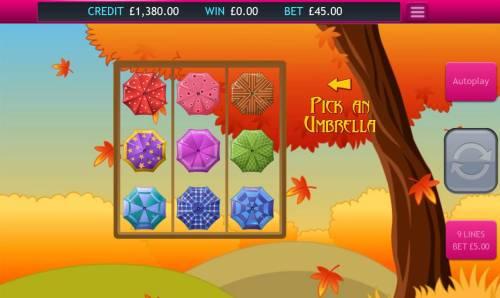 Autumn Gold Big Bonus Slots Pick an umbrella