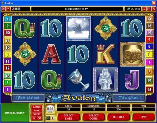 Avalon review on Big Bonus Slots