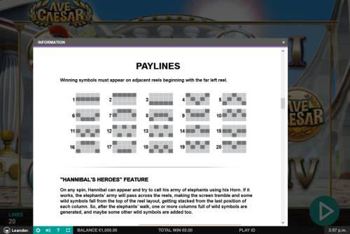 Ave Caesar review on Big Bonus Slots